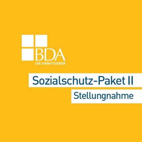Sozialschutzpaket II OT
